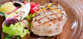 Lemon Grilled Tuna Steak recipe