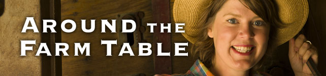 Around the Farm Table custom banner