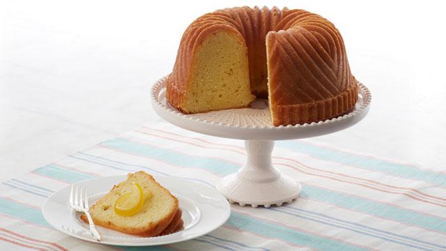 Lemon Bundt Cake With Syrup Recipe Courtesy Of Martha Bakes