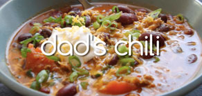 Dad's Chili recipe