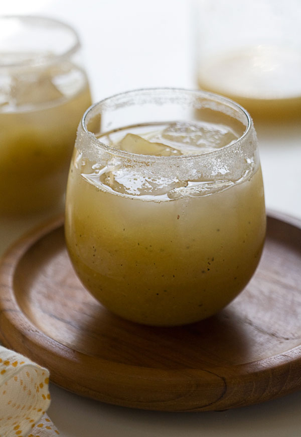 Grilled Pineapple Margaritas recipe
