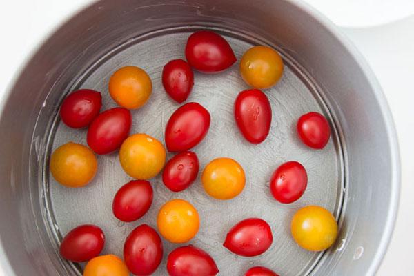 Cherry Tomato Clafoutis Recipe