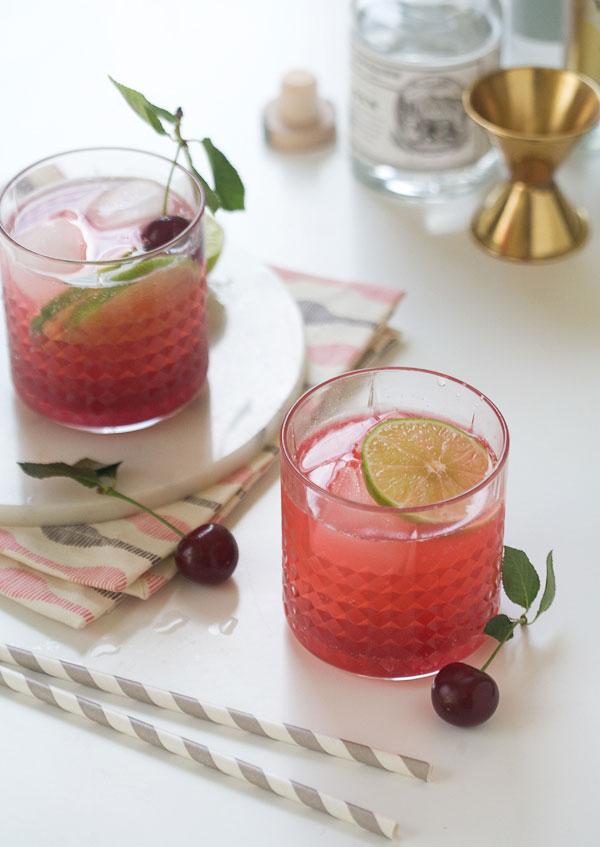 Sour Cherry Gin And Tonic Recipe Fresh Tastes Blog Pbs Food