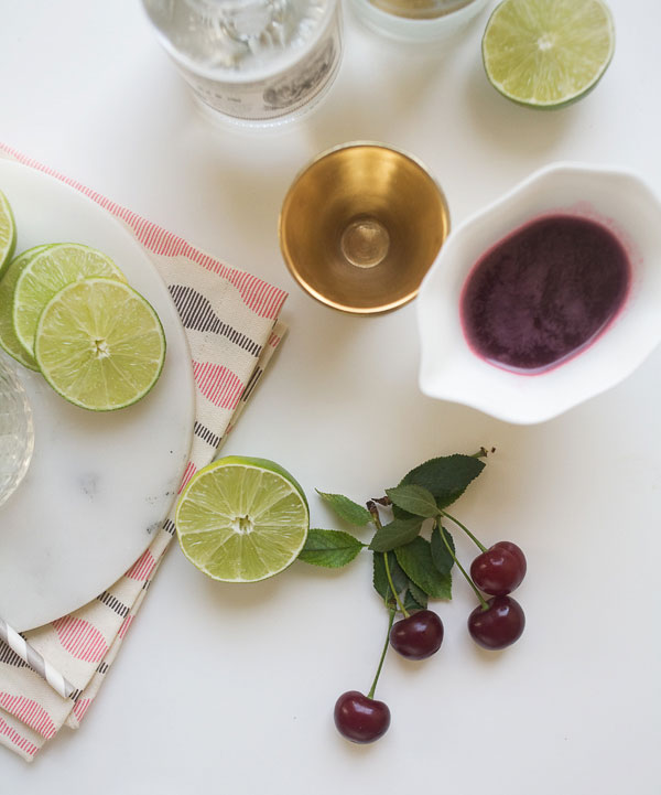 Sour Cherry Gin and Tonic Recipe | Fresh Tastes Blog | PBS Food
