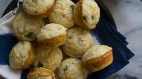 Hatch Chile Corn Muffins recipe