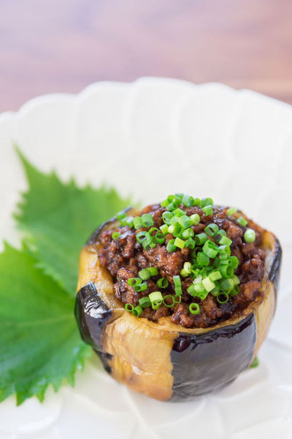 Nikumiso Dengaku Recipe (Stuffed Eggplant) | Fresh Tastes | PBS Food