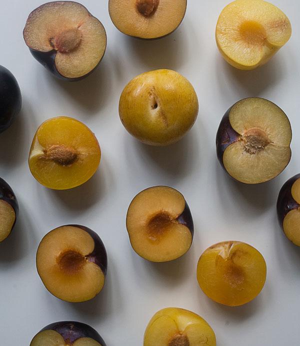 Rye Plum Crisp recipe