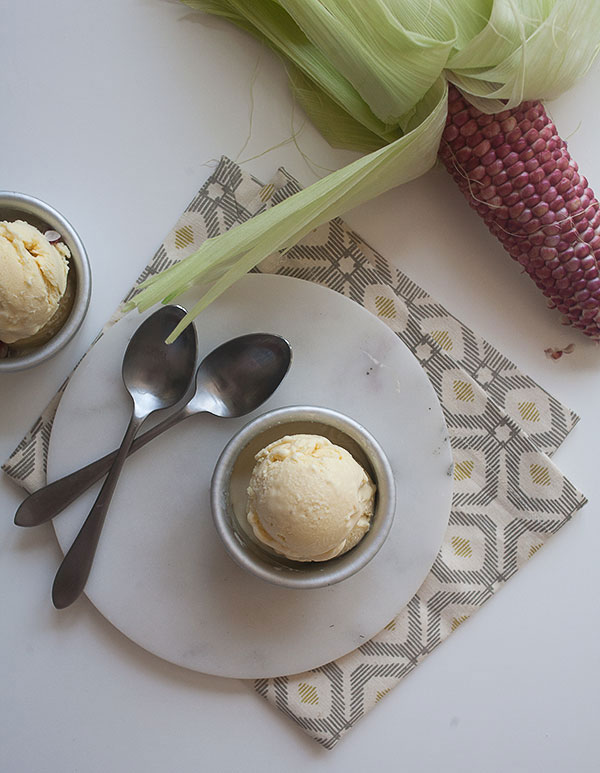 Sweet Corn Ice Cream recipe