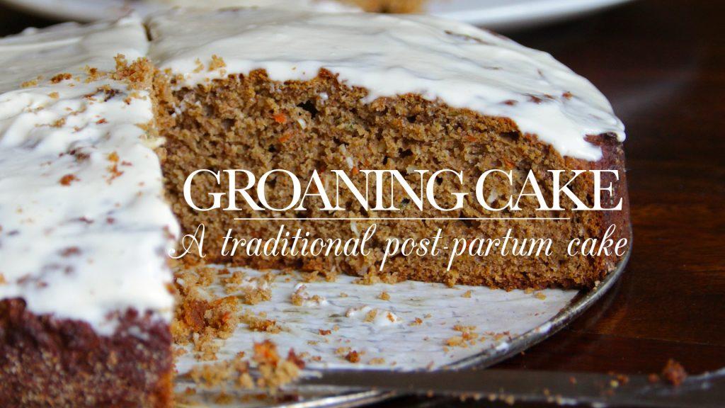 Groaning Cake recipe