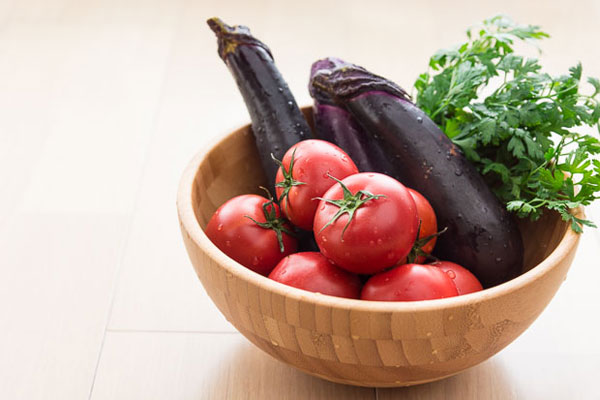 Eggplant and Tomato Salad recipe