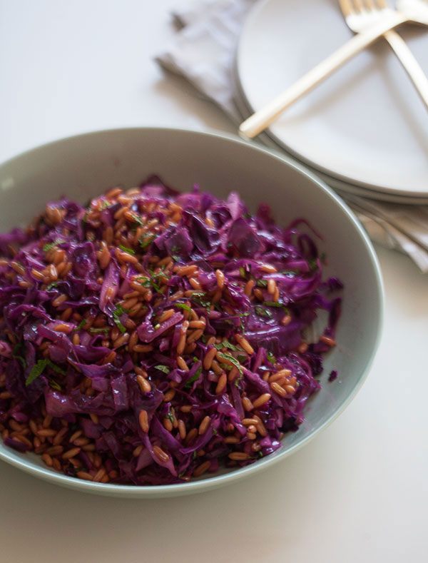 Kamut Cabbage Salad recipe