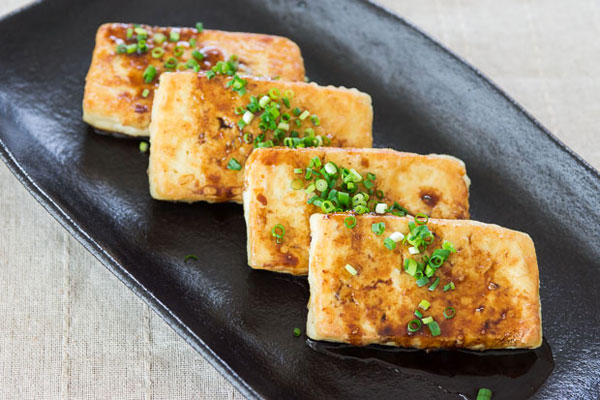 Pan-Fried Tofu recipe