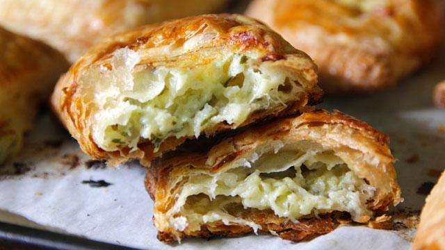 Zucchini Cheddar Hand Pies recipe