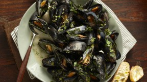 Beer Steamed Mussels-Spooned into-WEB