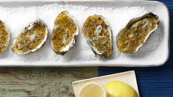 Grilled Oysters With Cajun Compound Butter Recipe Pbs Food