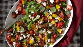 The dressing for this salad gets a spicy kick from Calabrian chiles, a ...
