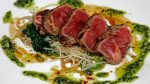 Wagyu-Tataki-with-Thai-Basil-Pesto