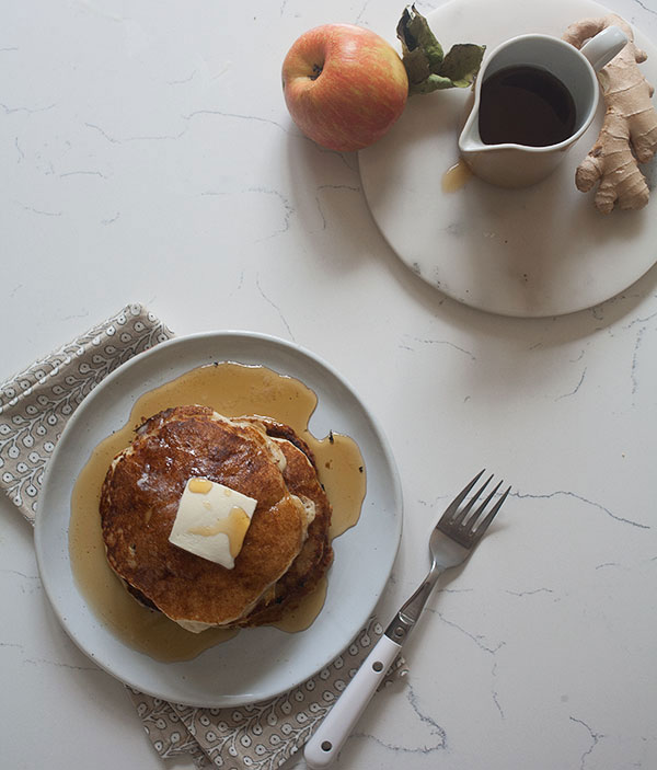 Apple Ginger Pancakes recipe