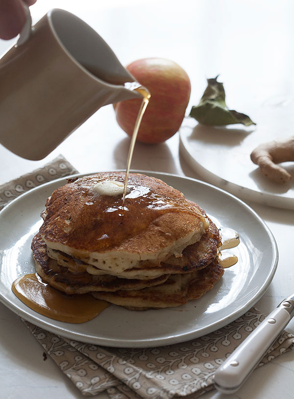 apple ginger pancakes this apple ginger pancakes recipe appears ...