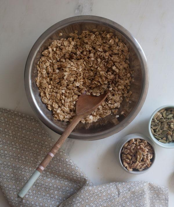 Fall Granola recipe