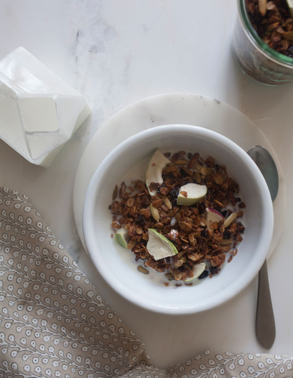 Fall Granola recipe