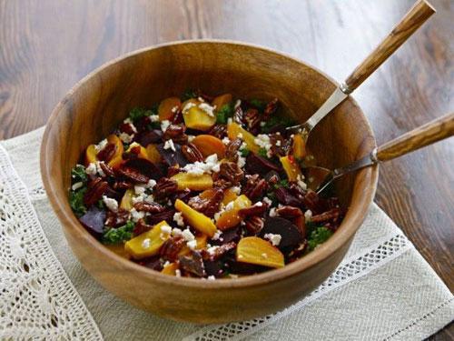 Kale and Roasted Beet Salad recipe