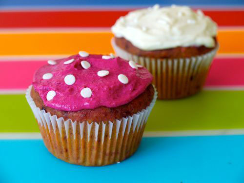 Red Beet Cupcakes recipe