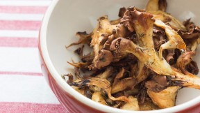Crispy Roast Hen of the Woods recipe