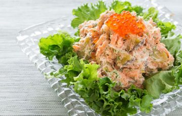 Salmon and Potato Salad recipe