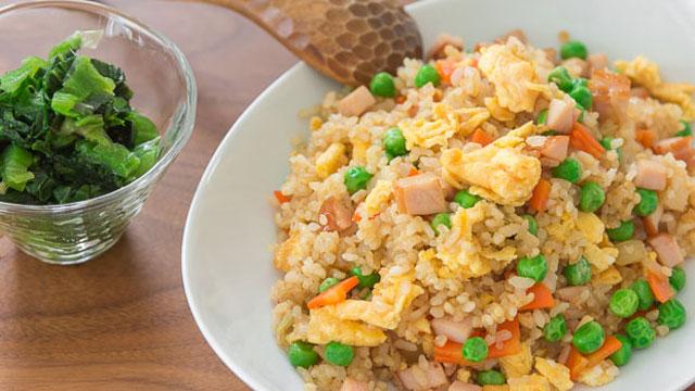 Gomoku Chahan recipe