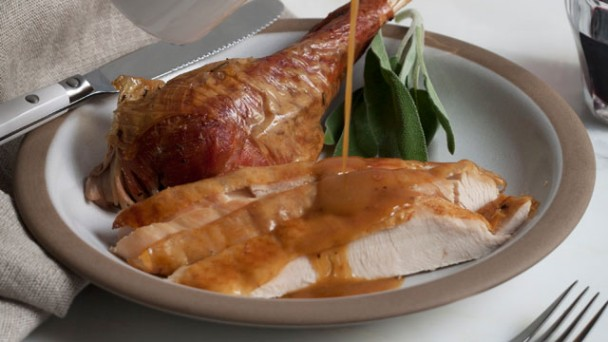 Pan Drippings Gravy recipe