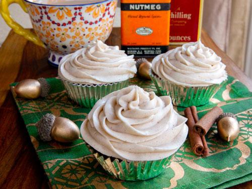 Pumpkin Cranberry Cupcake recipe