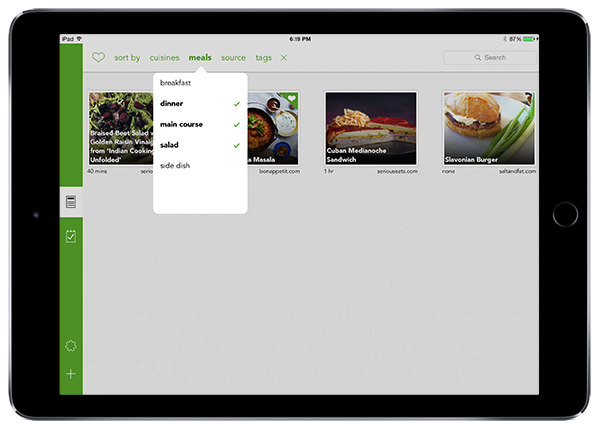 Best food apps of 2014 year in food 2014 pbs food create your own digital recipe book complete with mouthwatering photos with the basil app forumfinder Images