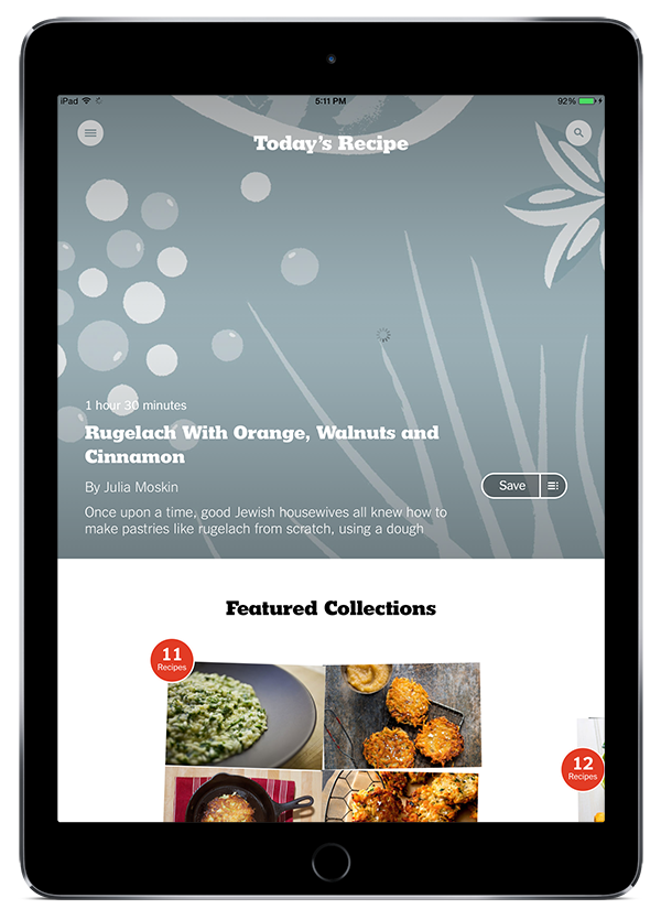 Best food apps of 2014 year in food 2014 pbs food the new york times relaunched their cooking section this year to much acclaim accompanying it was this wonderful app which features gorgeous photos forumfinder Images