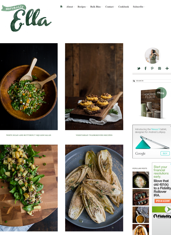 Best food blogs of 2014 year in food 2014 pbs food naturally ella forumfinder Image collections