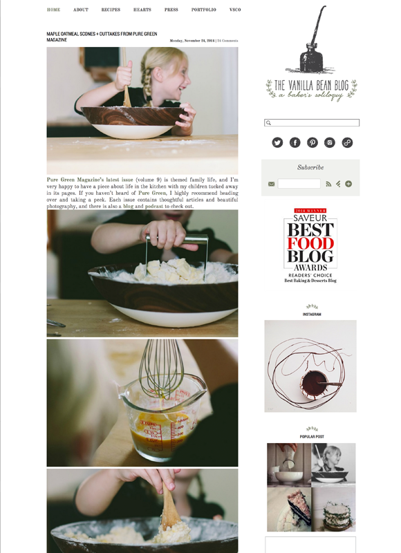 Best food blogs of 2014 year in food 2014 pbs food the vanilla bean blog forumfinder