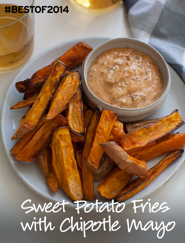 Sweet Potato Fries with Chipotle Mayonnaise