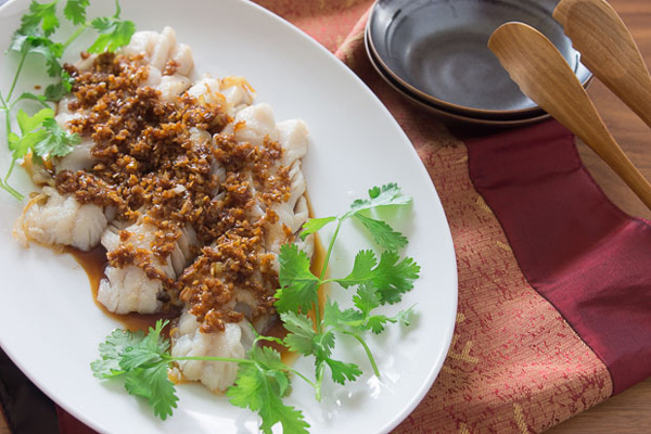 Cod with Soy Balsamic Glaze recipe