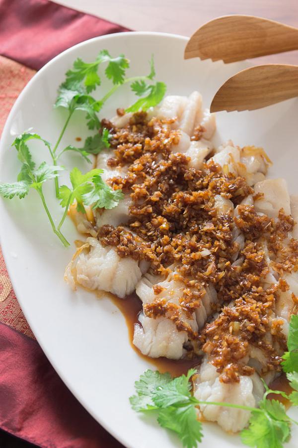 Cod with Soy Balsamic Glaze recipe
