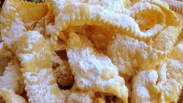 sweet bows crostoli recipe italian recipes pbs food - Italian Christmas Recipes