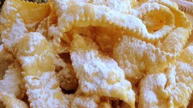 Sweet Bows Crostoli Recipe