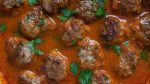 Harissa Lamb Meatballs recipe