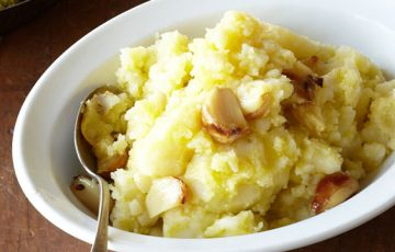 Olive OIl Mashed Potatoes recipe