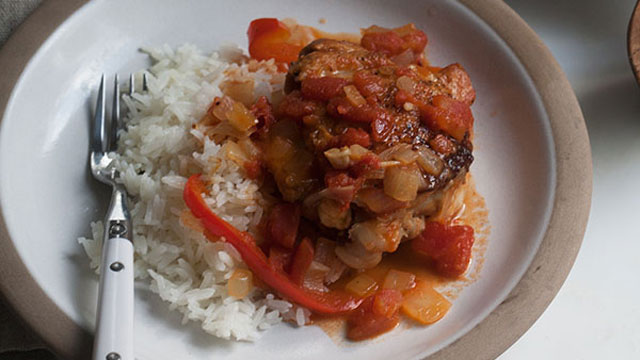 Tomato Garlic Chicken recipe