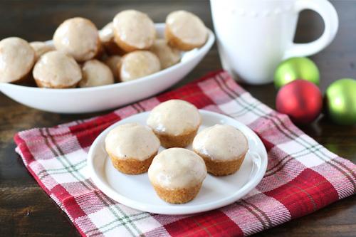 Eggnog Donut Muffins recipe