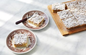 New York Crumb Cake Squares recipe