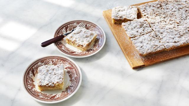 New York Crumb Cake Squares recipe