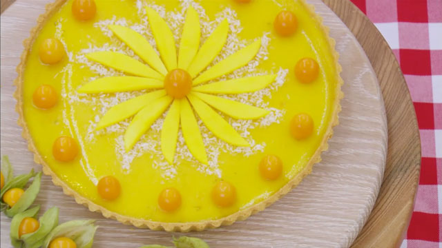 Tropical Manchester Tart recipe
