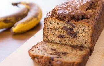 Peanut Butter Chocolate Chunk Banana Bread recipe