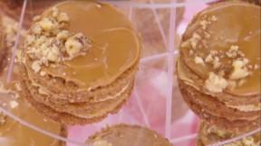 Miniature Coffee and Walnut Cakes recipe